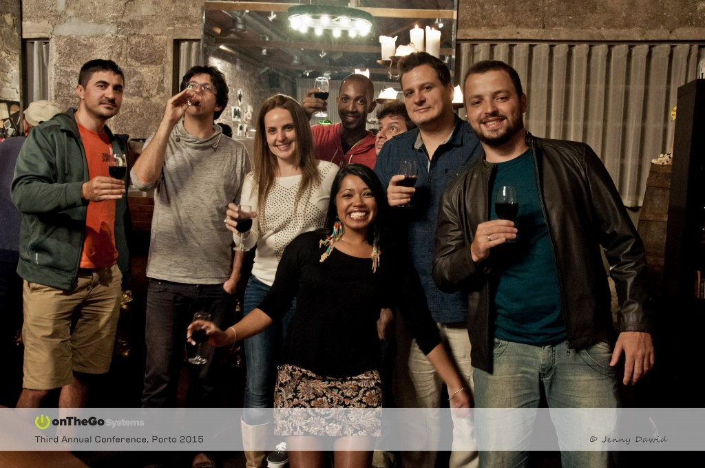 ...and almost everybody tasted the Port Wine which is a Portuguese fortified wine.
