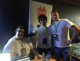 WordCamp Sofia: George, Dario and Vuk