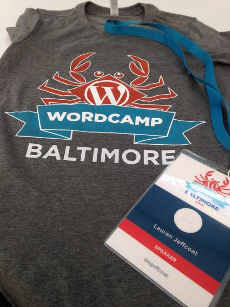 WordCamp Baltimore: Lauren