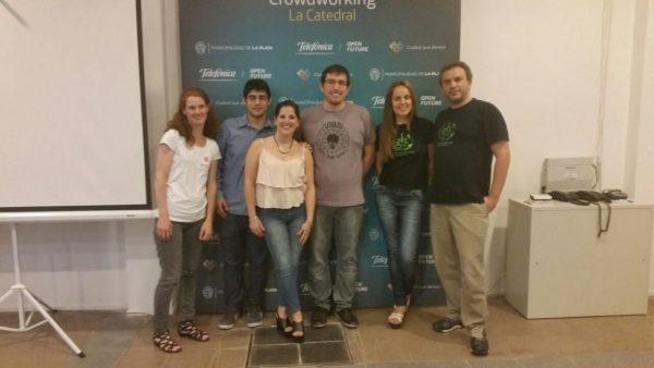 MeetUp La Plata: Mer, Gastón, Marcé, Ignacio, Laura, Otto