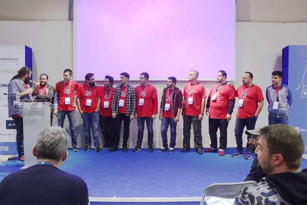 WordCamp Athens: Kostas and other organisers