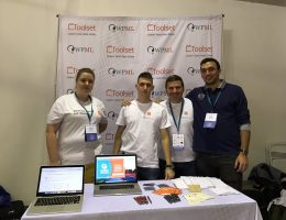 WordCamp Athens: Joanna, Mladen, Andreas and Dimitris