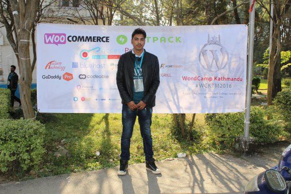 WordCamp Kathmandu: Shekhar