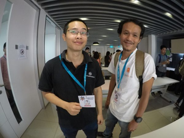 WordCamp Manila: Dat and Emerson