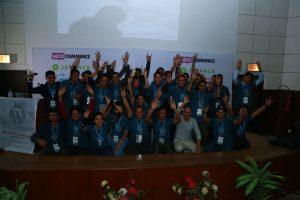 The team at WordCamp Kathmandu 2016