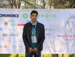 Shekhar Bhandari at WordCamp Hathmandu 2016