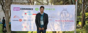 Shekhar Bhandari at WordCamp Hathmandu 2016