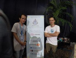 Dat & Emerson at WordCamp Denpasar 2016